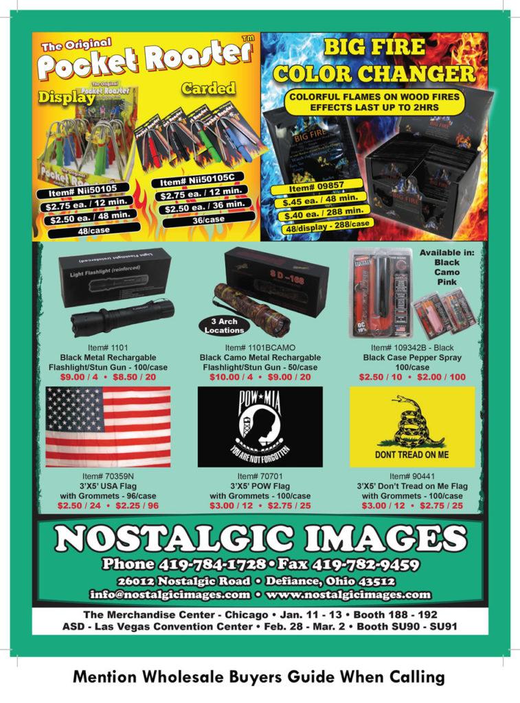 Nostalgic Images - Whole Sale Buyers Guide